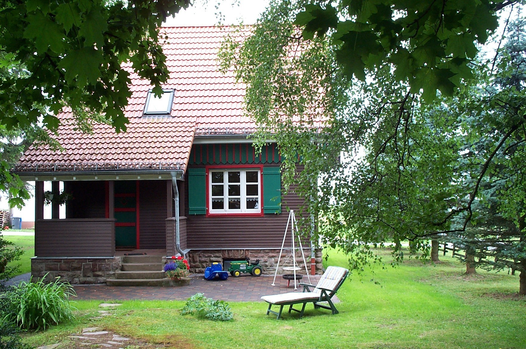 Ferienhaus Hersdorf: Ferienhaus auf dem Knopp